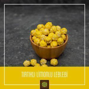 Tırtıklı Limonlu Leblebi